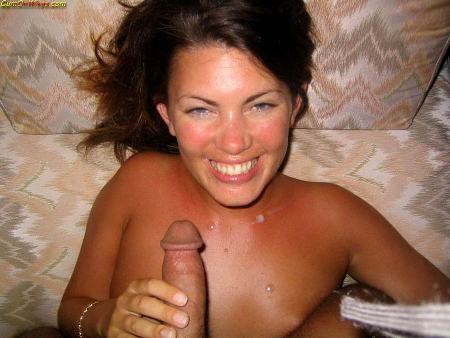 Amateur Wife Friend Facial